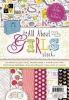 DCWV Mat stack MS-003-023 All about girls