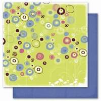Deja Views C-Thru FP-464 Scrapvel pear Burst of Circles