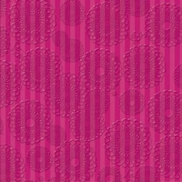 Deja Views Zinnia with Glitter & Thermograph ZIN-120 Pink