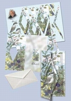 Kaart serie Staf Wesenbeek swk30-205 Voorjaar Mus