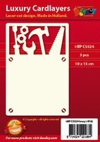 1 Doodey Luxe oplegkaart stans BPC5524 Gereedschap