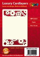 1 Doodey Luxe oplegkaart stans BPC5521 Radartjes & tandwieL
