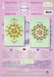 LeCreaDesign Rozetten kit 51.5908 Groen