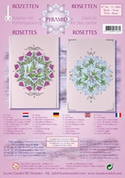 LeCreaDesign Rozetten kit 51.5885 Roze