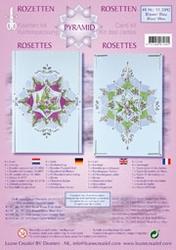 LeCreaDesign Rozetten kit 51.5892 Blauw