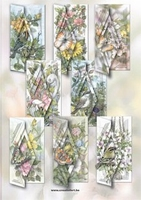 8 Kaarten Staf Wesenbeek serie  Voorjaar