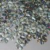 Bloemen pailletten PK004 zilver