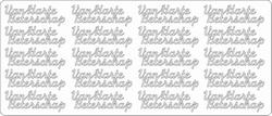 Tekststicker Peel-off 1622 Van harte Beterschap