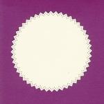 Foliart Linnenpersing Oplegkaart 021 kartel rond wit