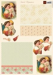 A4 Knipvel MD VK9512 Vintage Sweet romance 2