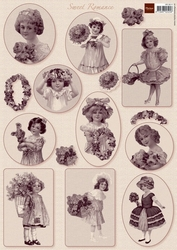 A4 Knipvel MD VK9511 Vintage Sweet romance 1