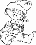 MD clear stamps Hetty's Snoesjes HM9420 Baby boy