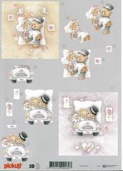 3D Knipvel Pick UP Pu032 Huwelijk