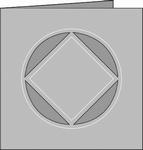 Romak 4-kant kaart 229 Radar 21 wit