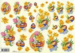 Knipvel A4 Mireille E703 Paasbloemen