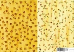 A4 Achtergrondvel Marjoleine Design 02 Vlinders/bloemen