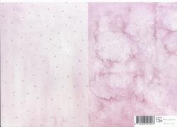 A4 Achtergrondvel Marjoleine Design 09 Druppels/gewolkt
