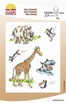 Kars Ollyfant Clear stempel storybook 917 Zoo fun