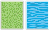 Sizzix textured impressions folder 656501 Animal Print Set