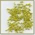 Mini brads 10 geel