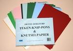 A4 Formaat Teken-Knutsel-Ponspapier&Knippapier