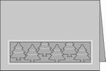 Romak stanskaart A6 Boompjes langs elkaar 21 wit