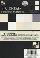 DCWV Cardstock stack MS-003-044 La créme