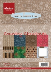 MD Pretty Paper Bloc PK9067 Country Christmas
