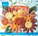 MD Paper flowers CP8957 autumn