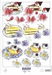 A4 Knipvel Marianne Design Shake it 457 Taart/gebak