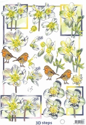 A4 Knipvel Marianne Design Shake it 406 Narcissen