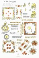 A4 Knipvel Marij Rahder 2132 Mini cards