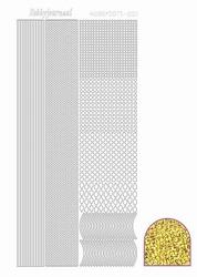 Stickervel Hobbydots Diamond STDD03 goud