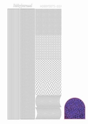 Stickervel Hobbydots Diamond STDD07 paars