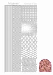 Stickervel Hobbydots Diamond STDD02 roze