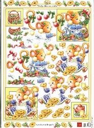A4 Knipvel MD Diny 3D547 Mindy's cookies