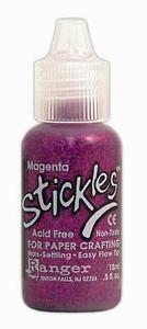 Ranger Stickles glitterglue SGG01850 magenta