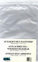 100 Wenskaart Zakjes A5 of grote 4-kante kaarten