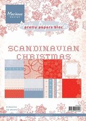 MD Pretty Paper Bloc PK9068 Scandinavian Christmas
