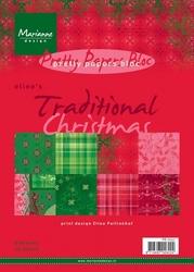 MD Pretty Paper Bloc PB7027 Eline's traditionel Christmas