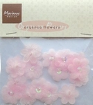 MD Organza flower JU0919 Pink