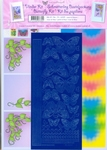 LeCreaDesign Vlinderkaarten kit 51.6301 roze/blauw