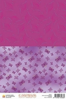 A5 Lucido Patch papier LUPA09 magenta-paars vlind
