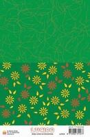 A5 Lucido Patch papier LUPA04 bloem blaadjes groen