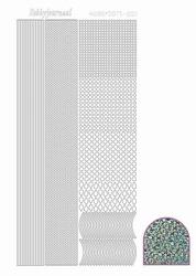 Stickervel Hobbydots Diamond STDD01 turqoise