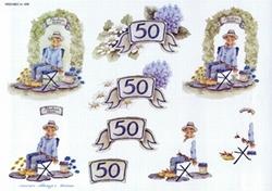 A4 Knipvel Wekabo 499 Abraham 50 jaar
