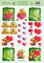A4 Knipvel Stenbode 0038.09 Bobo verliefd