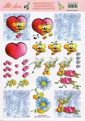 A4 Knipvel Stenbode 0038.07 Bobo verliefd