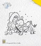 Clear stempel Nellie'S Koetie COW007 Kind