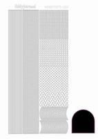 Stickervel Hobbydots adhesive STDA013 zwart
